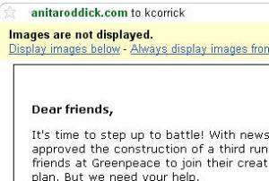 Anita Roddick email1