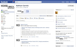 Kathryn's Facebook Page