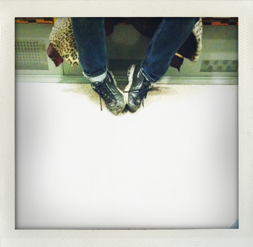 Feet on the Overground blog