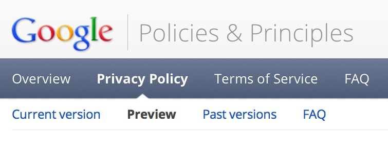Google's Policies and Principles